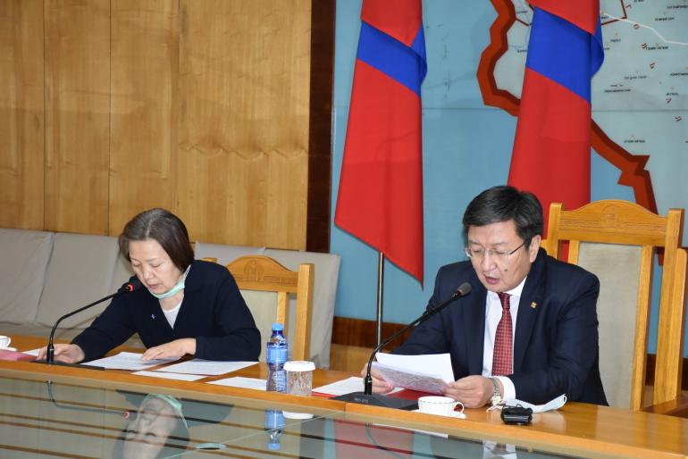 Монгол Улс ШХАБ-ын гишүүн орнуудтай хамтран ажиллах сонирхолтой байгааг Шадар сайд илэрхийлэв