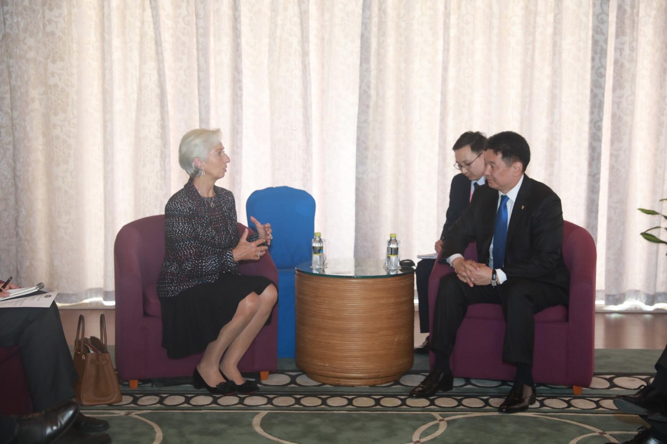 Christine Lagarde: The IMF is satisfied with the