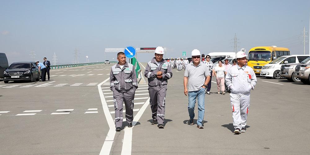 Монгол Улс анхны хурдны замаа нээлээ