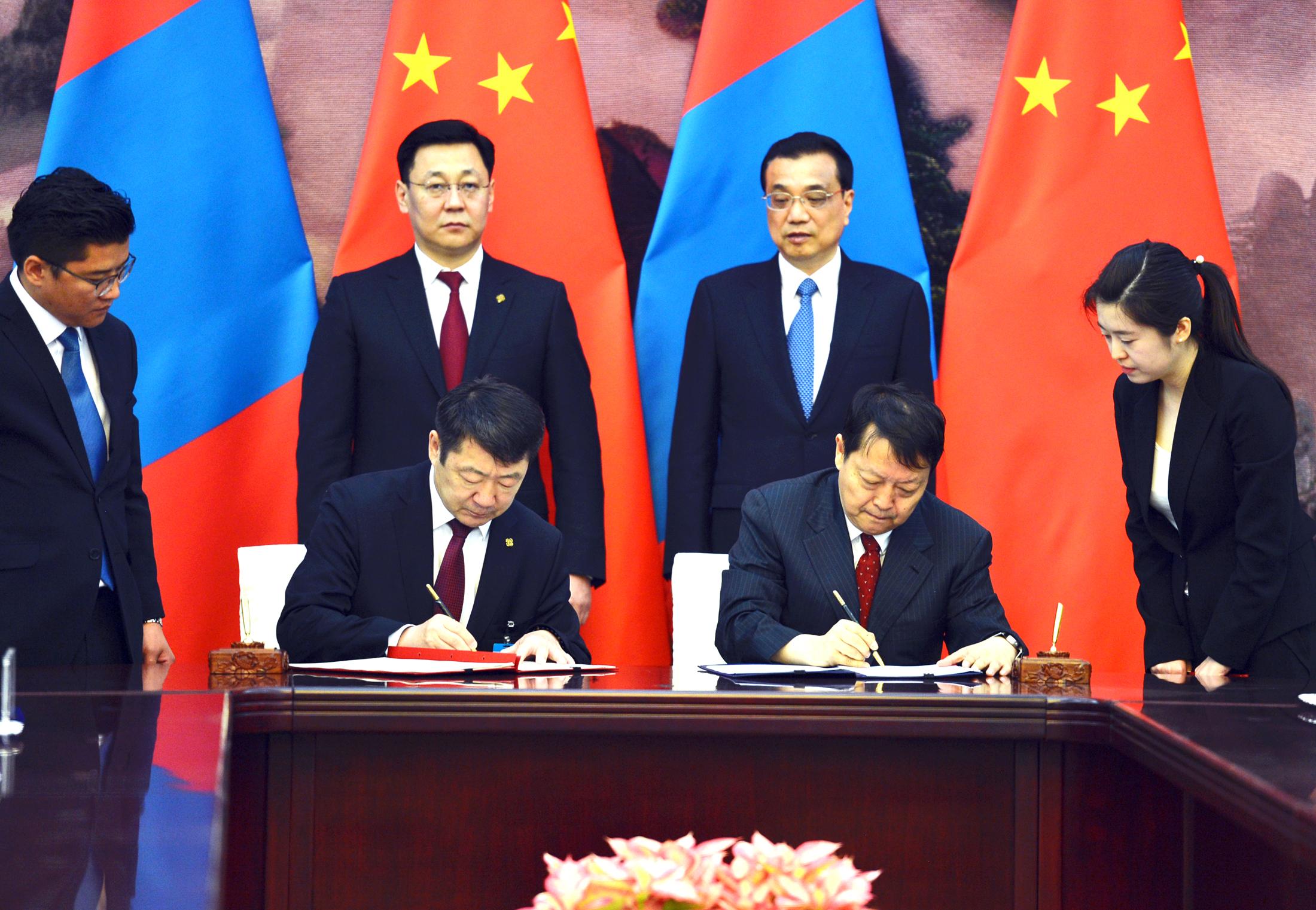 1a7e5e1f878a68fd7e550ad8000158e8 Монгол Улсын Ерөнхий сайд Ж.Эрдэнэбат, БНХАУ-ын Төрийн Зөвлөлийн Ерөнхий сайд Ли Көчянтай нар албан ёсны хэлэлцээ хийв
