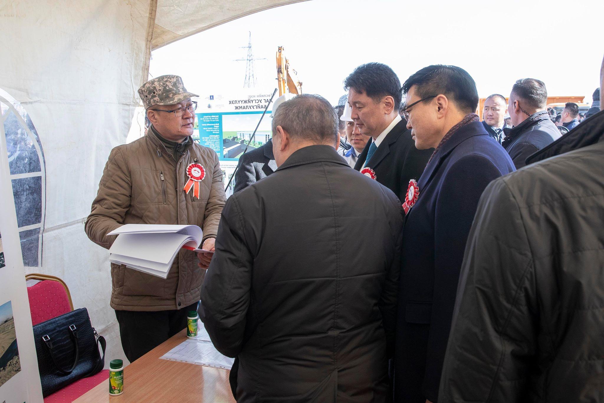 53fd6aff340fc7c920ea7d7ba7e73401 Улаанбаатар хотын шинэ төв цэвэрлэх байгууламжийн барилгын ажил эхэллээ