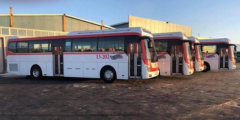 Байгалийн шингэрүүлсэн хийн хөдөлгүүрт автобусыг нийтийн тээврийн үйлчилгээнд гаргана