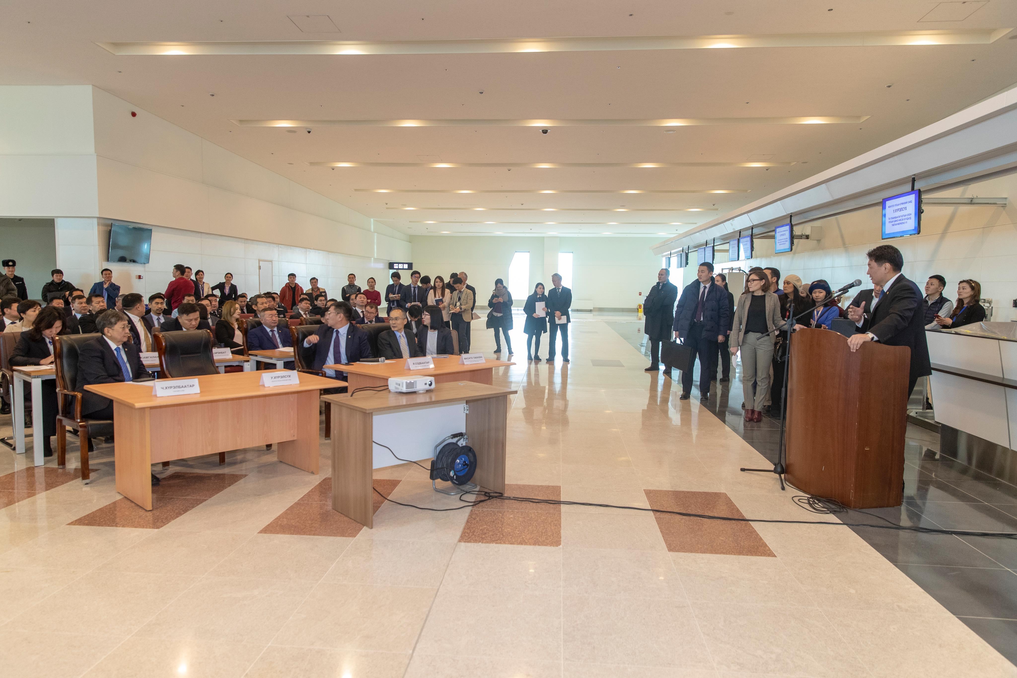 Ирэх оны долдугаар сард Улаанбаатар хотын Олон Улсын шинэ нисэх буудал ашиглалтад орно