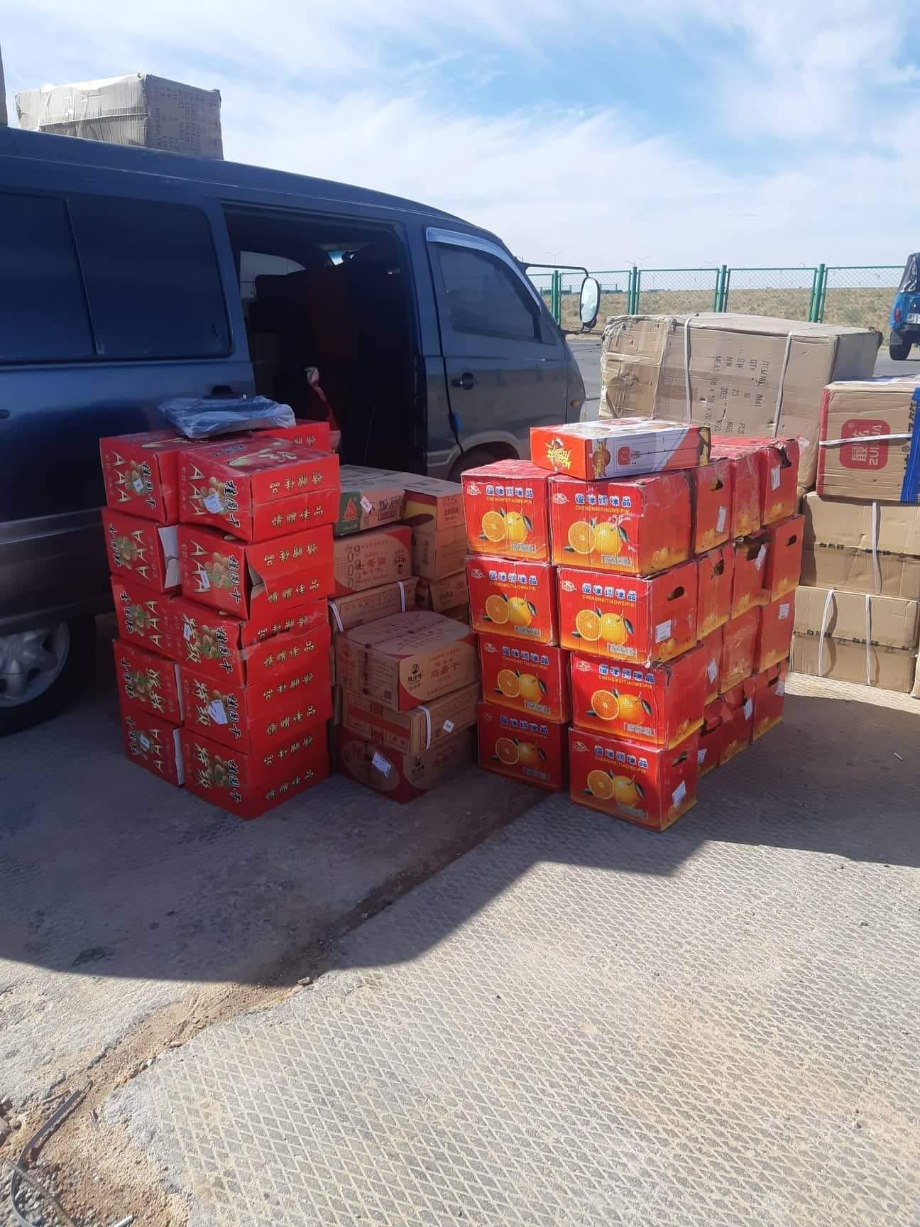 Хууль бусаар 110 хайрцаг бараа бүтээгдэхүүнийг хилээр нэвтрүүлэхийг завджээ