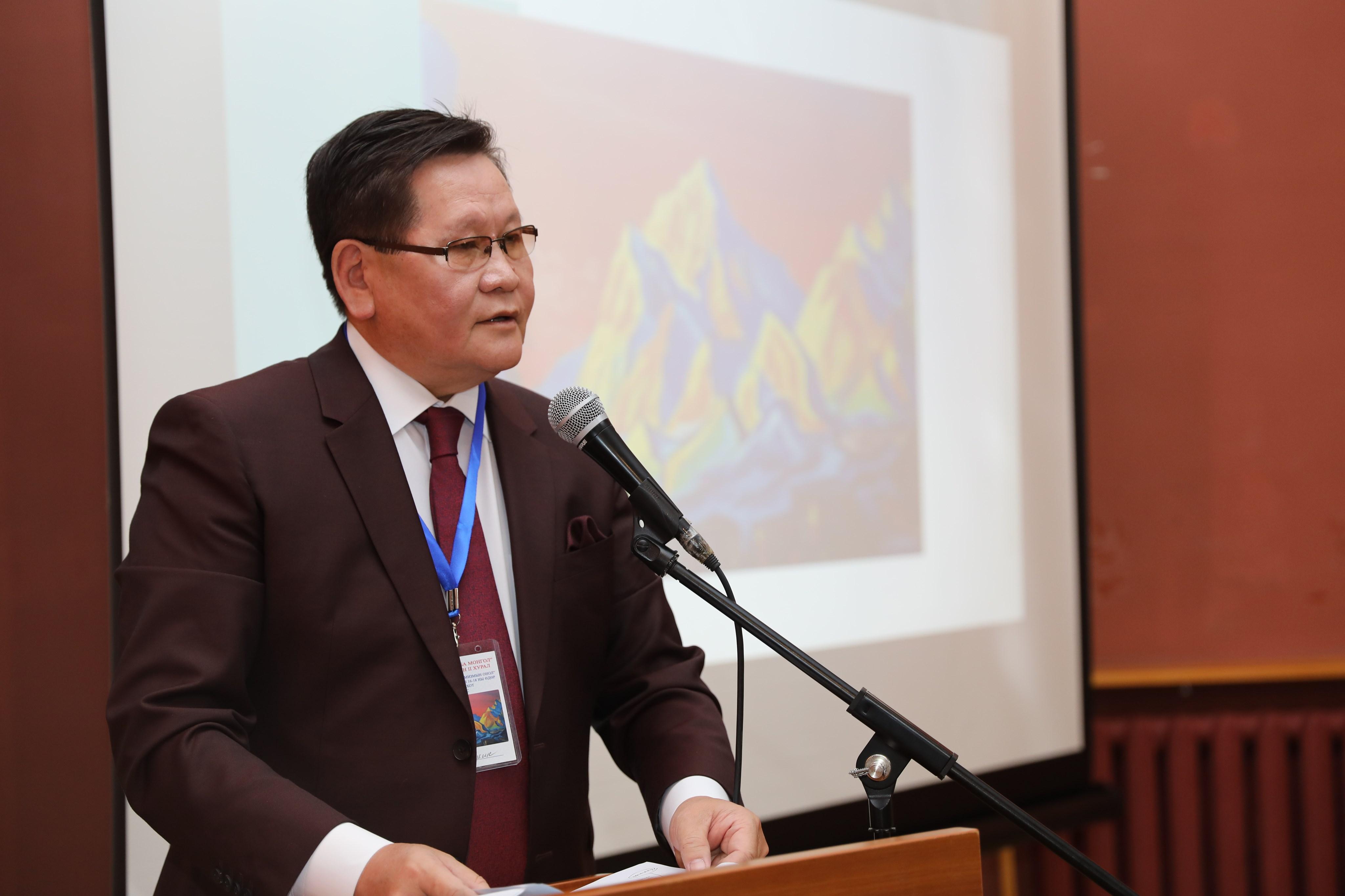 Ө.Энхтүвшин: Н.К.Рерих бол Монгол орны түүх, байгалийн дүрслэлийг бүтээлийнхээ нэгэн чухал сэдэв болгодгоороо онцлогтой